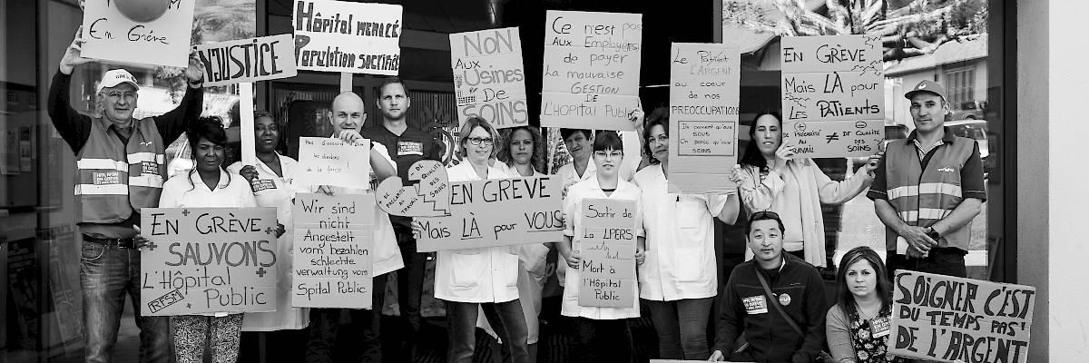 Hôpital fribourgeois: la mobilisation du personnel a payé!