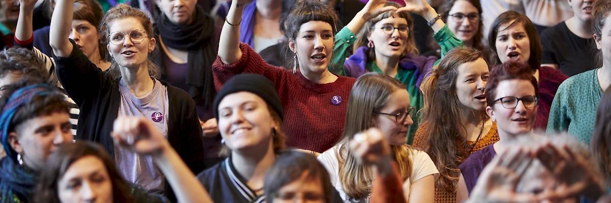 La grève féministe en pratique