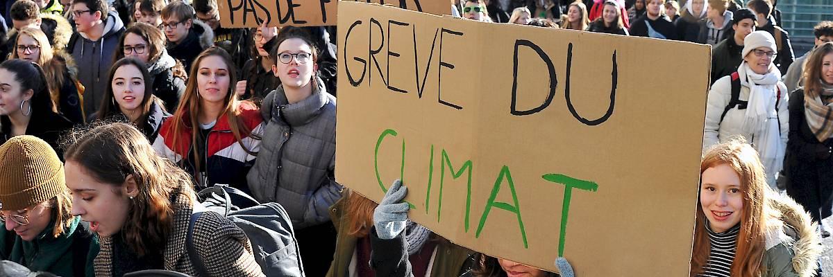 Grève pour le climat: une mobilisation nécessaire à saluer et encourager