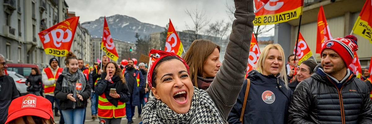 France: «Toute une génération militante est en train de se forger dans la lutte»